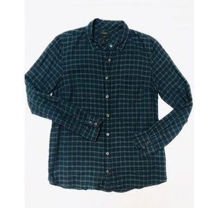 J Crew Plaid  Boy Shirt (Size 6)